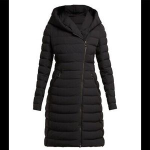 Like new black Moncler Barge Quilted Down Coat
